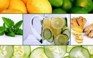 Рецепты для имбирь лимон огурец. Чудо-напиток для похудения — огурец, лимон, мята и имбирь