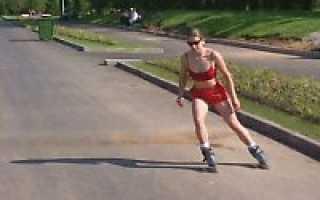 Как-тормозить на роликовых коньках. Особая наука – как тормозить на роликах