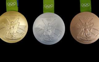 Из чего делают олимпийские медали.