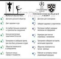 Разница между физкультурой и спортом. Чем отличается физкультура от спорта