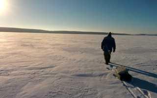 Толщина льда для безопасного передвижения человека. Когда выходить на лёд