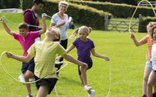 Как научиться прыгать на скакалке. Как научить ребенка прыгать на скакалке? Развиваем выносливость и координацию
