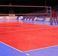 Размеры волейбольной площадки и ее разметка.