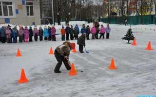 Зимние игры и забавы для детей дошкольного возраста на улице. Зимние развлечения на улице