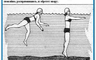 Как не бояться воды когда учишься плавать. Страх глубины