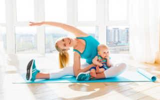 Упражнения с младенцем на руках. Современная фитнес мама: упражнения с ребёнком на руках